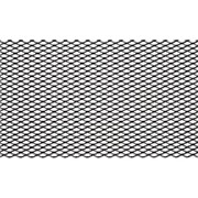 Сетка для защиты радиатора 15 мм 120*40 см, черная (1 шт.) фото
