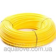 """Шланг, желтый, эластичный, полиэтиленовый 3/8"""", A4-E2006Y фото"""