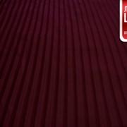 Шифон Плиссе - (бордовый Марсала) фото