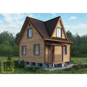 Дом каркасно-щитовой Проект №23 (6х5) фото