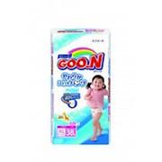 Трусики-подгузники GOON для девочек XL 5 (12-20 кг), 38 шт фото