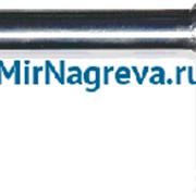 Патронный нагревательный элемент 10*260 мм, 1000 Вт/230 В, угл. отвод, провод в металлической гофре, 2 метра фото