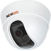 """NOVICAM 87E Видеокамера цветная купольная высокого разрешения, матрица 960H Enhanced EFFIO-E SONY 1/3"""", 0.01 люкс, 700 ТВ линий, встроенное МЕНЮ, 12v DC, объектив 2.8 или 3.6мм фото"""