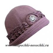 Шляпка женская Morozkin Перо фото