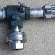 Струбцина REGO A7708L + 7575L4, поворотное соединение, для полуприцепов-газовозов, слива пропана, заправки АГЗС, СУГ, LPG, сжиженного газа, кран для автоцистерн фото