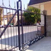Ворота и заборы фото