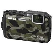 Фотоаппарат Nikon Coolpix AW120 камуфляж фото