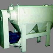 Машина щеточная МЩ.7 для очистки зерновых культур от пыли и оболочек перед помолом. Технологическое оборудование подготовки зерна к помолу для зерноперерабатывающих предприятий и мукомольных мельниц фото