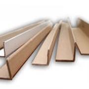 Уголок картонный защитный прессованный фото