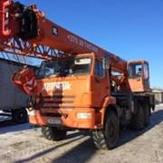 Аренда автокрана 25 тонн, 28 + 9 метров (ВЕЗДЕХОД) фото