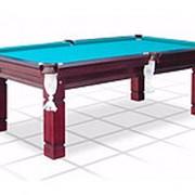 Бильярдный стол для русского бильярда Texas (махагон) 7 футов фото