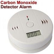 Детектор угарного газа СО2 с автоматическим оповещением звуковым сигналом фото
