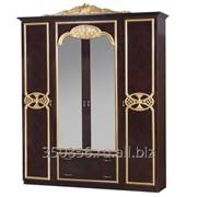 Шкаф 3-х дверный Карина Могано золото фото