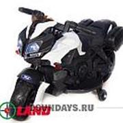 Детский электромотоцикл Moto JC 919 белый