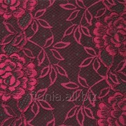 Кружево эластичное Chanty цвет рубиновый артикул 65544 фото