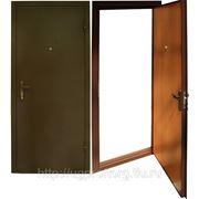 Металлическая дверь 2050х850х80 фото