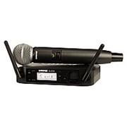 SHURE GLXD24E/SM58 Z2 2.4 GHz - цифровая вокальная радиосистема с ручным передатчиком SM58 фото