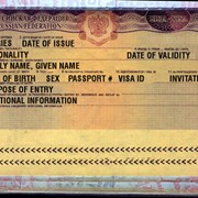 Письмо-приглашение для деловой визы РФ (1 кратное) фото