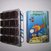 Замороженный корм для аквариумных рыб фото