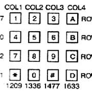 Клавиатура резиновая для номеронабирателей фото