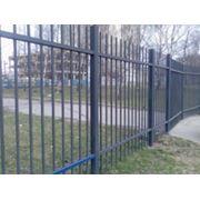 Забор металлический фото