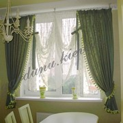 Австрийские шторы, пошив и дизайн фото