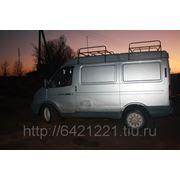 Багажник на Соболь Баргузин на ГАЗ-2217 2 секции фото