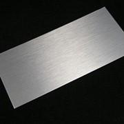 Гидроабразивная резка алюминия фото