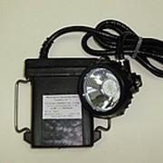 Светильник головной шахтерский рудничный особовзрывобезопасный «ЛУЧ-Р-03» фото