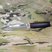 Нож Пограничник белый, дерево, мельхиор художественное оформление фото