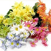 """Цветок искусственный """"Ромашка букет микс"""" 203122 фото"""