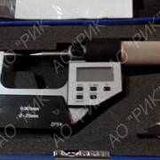Микрометр электронный МКЦ 0-25 с двумя точечными губками фото
