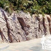 Скалы из бетона фото