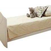 Кровать ЛДСП Белое НМ 008.62 фото