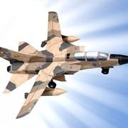 Модели самолета. 189-01 Tornado (песочный) фото