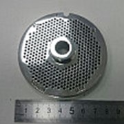 555.110 Решётка #22 усиленная для мясорубки FAMA системы Enterprise ( D-82мм, раб. отв. 2мм) фото