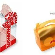 Рекламная упаковка для корпоративных подарков фото