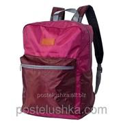 Рюкзак Соло 420 DERBY с карманом для ноутбука 14* бордовый Фуксия фото