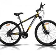 29 ASPIRE LINE Biwec велосипед горный, Чёрно-желтый фото