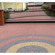 Брусчатка бетонная (красная) 200×100×60 фото