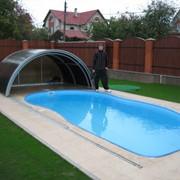 Бассейны наружные и внутренние,накрытие для бассейнов фото