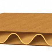 Гофрокартон трехслойный в листах, рулонах, РБ фото