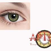 Линзы контактные цветные, золотые фото