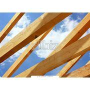 Стропила деревянные фото