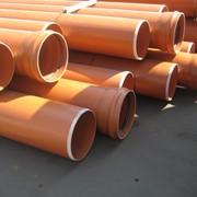 Труба наружной канализации ПВХ Ø160 длина 1000 мм SN2 фото
