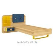 Детская кровать комбинированная «Джинс» фото
