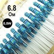 Резистор 6,8 Oм, 0.5W фото