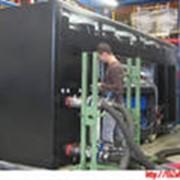 Монтаж оборудования негабаритного и тяжеловестного фото