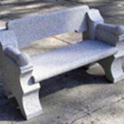 Скамейки из травертина фото
