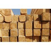 Брус деревянный в ассортименте фото